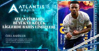Atlantisbahis Büyük ve Küçük Liglerde Bahis Limitleri