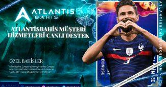 Atlantisbahis Müşteri Hizmetleri Canlı Destek