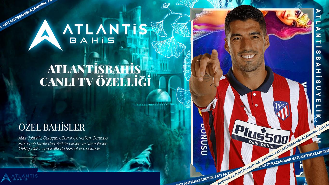 Atlantisbahis Canlı TV Özelliği