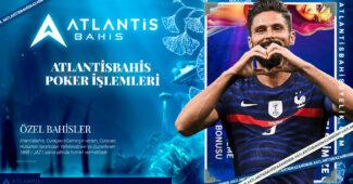 Atlantisbahis Poker İşlemleri